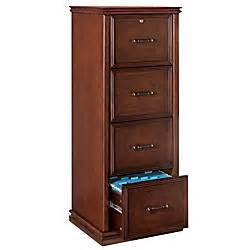 realspace premium wood file cabinet 4 drawers 55 25 h x 21
