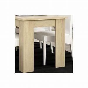 Salle A Manger Chene Clair : table de salle manger contemporaine ch ne clair mirage ~ Melissatoandfro.com Idées de Décoration