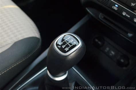 2018 Hyundai I20 Facelift Review Gear Lever