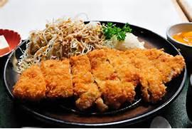 Tonkatsu with sides