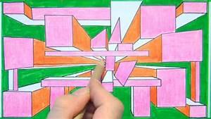 Perspektive Zeichnen Raum : perspektive zeichnen f r anf nger perspective drawing for beginners hd youtube ~ Orissabook.com Haus und Dekorationen