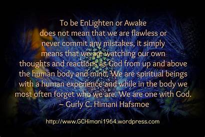 Spiritual Quotes Quote Spirituality Experience Enlightenment Human