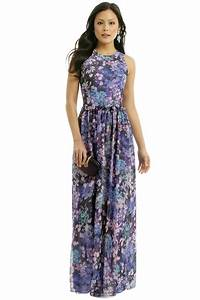 hydrangea garden maxi formal dress formal and la mode With garden wedding guest dresses