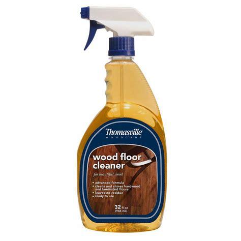 floor clearner thomasville 32 oz wood floor cleaner 100018t the home depot