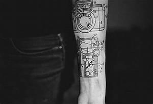 Camera Tattoos And Designs
