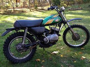 1975 Kawasaki Km100 Motorcycle Mini Bike Dirt Bike