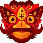Icon Dragon Chinese Lion Festival China Costume