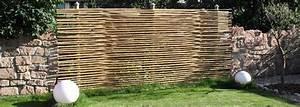 Sichtschutzzaun Bambus Holz : sichtschutzzaun aus bambus gh product solutions ~ Markanthonyermac.com Haus und Dekorationen