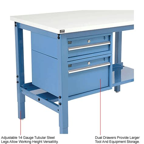 work bench systems adjustable height global industrial