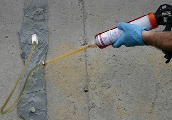 20 ft Polyurethane Foam crack Injection   Foundation Crack