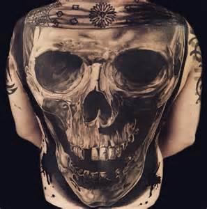Realistic Skull Tattoo Designs
