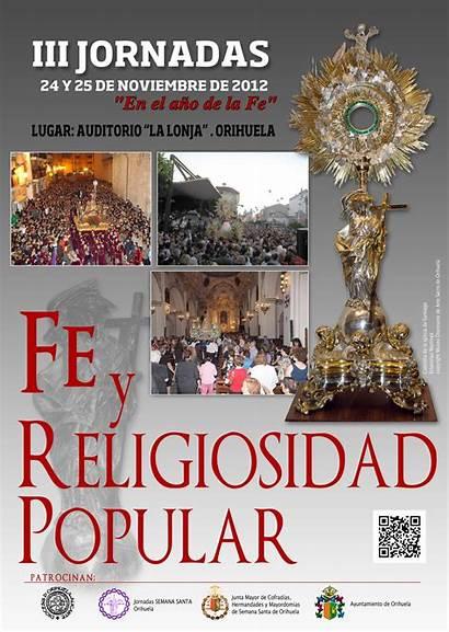Religiosidad Popular Jornadas Iii Fe Alicante Orihuela