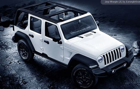 jl jeep release date 2018 jeep wrangler redesign what s happening to the new