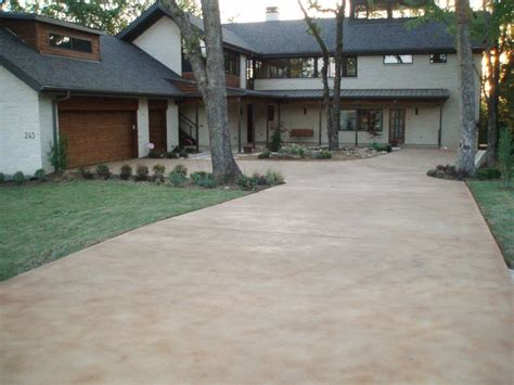 stained driveway ideas stained concrete driveway driveway pinterest
