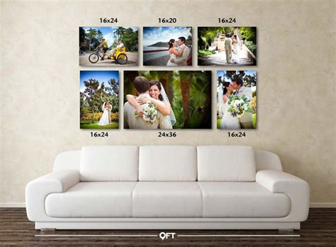 cluster   canvas groupings pinterest photo