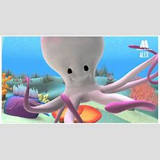 Octopus, Cartoon To Learn About Sea Animals  Alex In The Sea Youtube