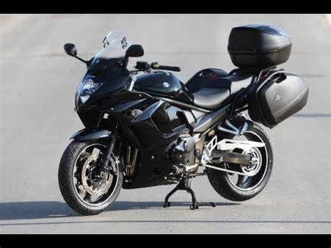 gsx 1250 fa suzuki gsx 1250 fa exhaust sound and acceleration compilation