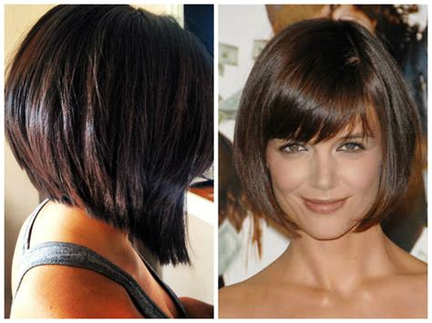 Short Inverted Bob Hairstyles With Bangs Inverted Bobs