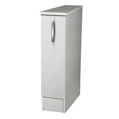 meuble de cuisine largeur 30 cm meuble de cuisine bas 1 porte blanc h86x l15x p60cm
