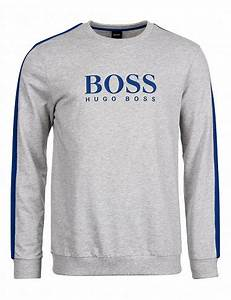 Hugo Boss Bettwäsche : pullover authentic von hugo boss grau blau ~ Watch28wear.com Haus und Dekorationen