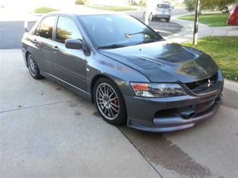 2006 Mitsubishi Lancer Evolution Mr For Sale by Buy Used 2006 Mitsubishi Lancer Evolution Mr Sedan 4 Door
