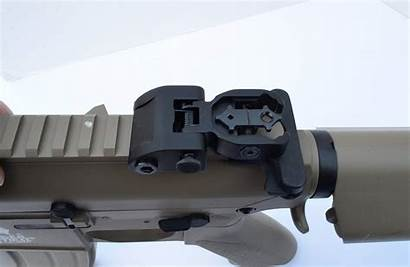 Sights Iron Aim Improve Rifle Clay Shooting