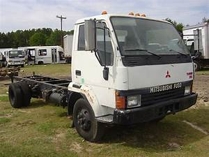 Mitsubishi Fuso Fh Truck 1991 5 Speed Manual 6d31 Engine