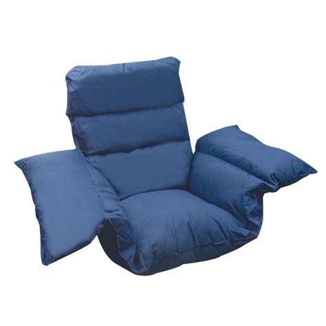 maxiaids comfort pillow cushion navy blue