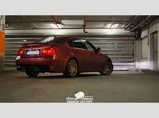 BMW 3 Rosu metalizat mat DCM Design