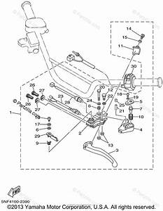 Yamaha Atv 2002 Oem Parts Diagram For Handle Switch
