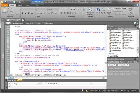 microsoft sharepoint designer make custom list forms centralized manageable stefan