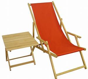 Erst Holz : gartenliege buche terracotta liegestuhl tisch deckchair ~ A.2002-acura-tl-radio.info Haus und Dekorationen