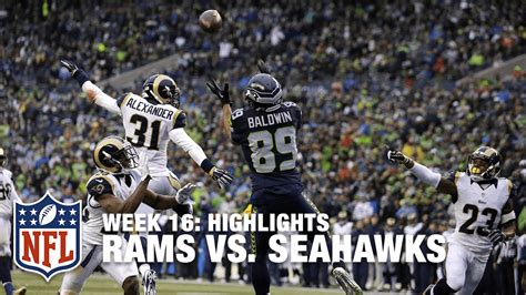 rams  seahawks week  highlights nfl youtube