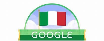 Italy Republic Google Doodles Clipart 2008 June