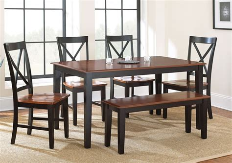 Kingston Medium Oak Rectangular Dining Room Set From Steve