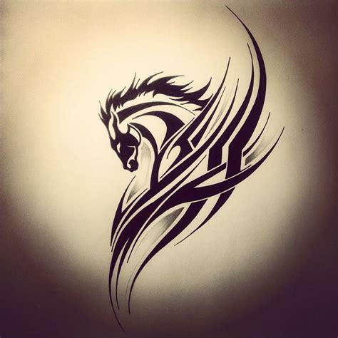 Studentsin1place Simple Tribal Animal Tattoo Ink