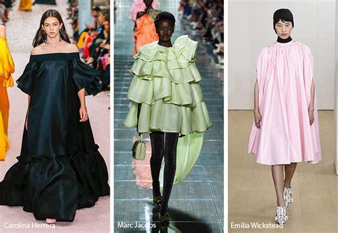 spring summer  fashion trends spring  runway trends