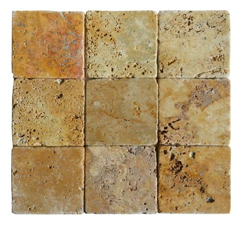 travertine mosaic tile gold classic tumbled travertine mosaic tiles 4x4 stone tile us