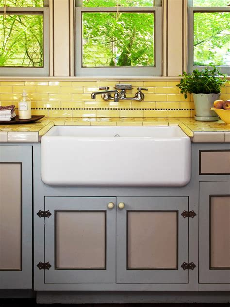 yellow kitchen tiles kitchen backsplash ideas better homes gardens 1222