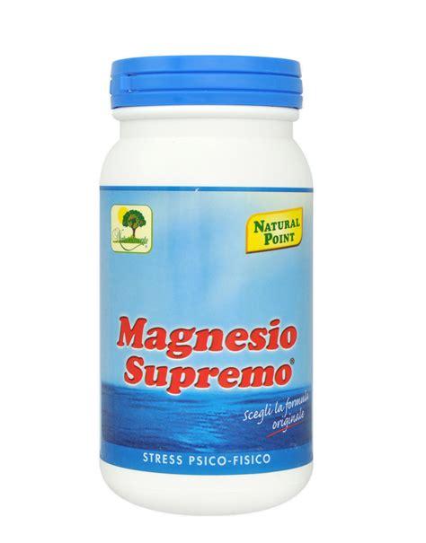 cloruro di magnesio supremo magnesio supremo di point 150 grammi 12 56
