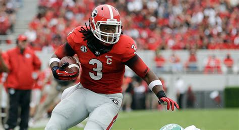 uga coach mark richt todd gurley doubtful  play