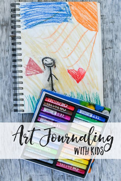 art journaling  kids