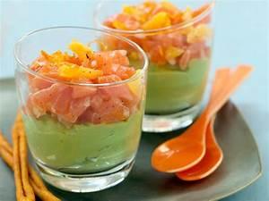 Verrine En Verre Pas Cher : verrine de guacamole au saumon facile et pas cher recette sur cuisine actuelle ~ Teatrodelosmanantiales.com Idées de Décoration