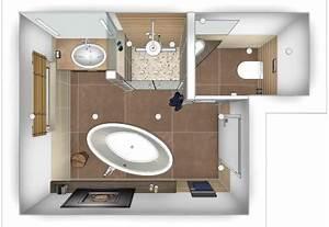 Bad Grundrisse Beispiele : badezimmer 4 qm ideen ~ Orissabook.com Haus und Dekorationen