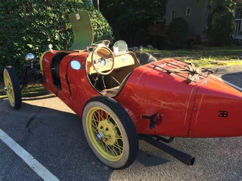 Stunning 1927 Bugatti Type 35 In Red With Bugatti Club Of