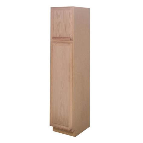oak kitchen pantry assembled 18x84x24 in pantry kitchen cabinet in