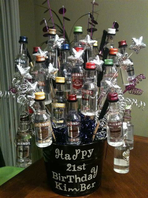 great st birthday shot basket gift giving ideas