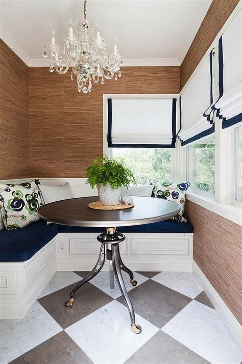 L Shaped Banquette - breakfast nook with l shaped banquette transitional