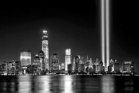 light the night nyc new york city skyline tribute in lights and lower