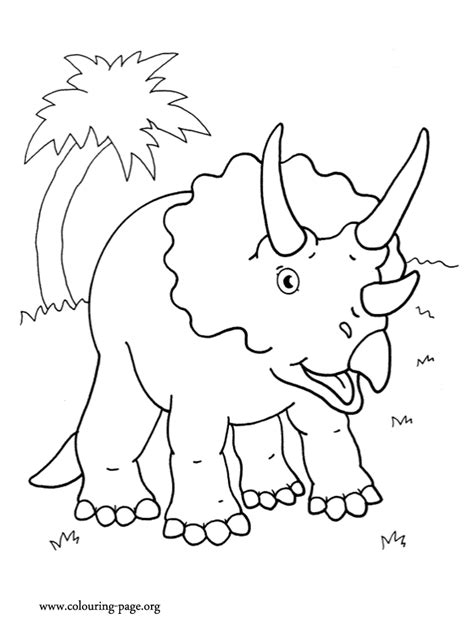 Triceratops Kleurplaat by Triceratops Coloring Page Az Coloring Pages
